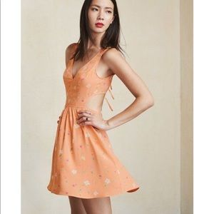 Reformation Murcia Dress in Sorbet Floral XS NWOT